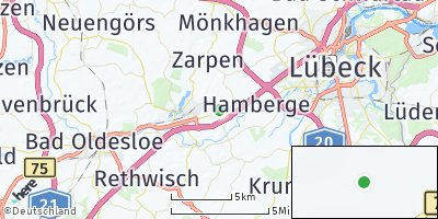 Google Map of Wesenberg