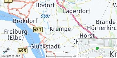 Google Map of Krempe