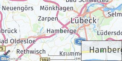 Google Map of Hamberge