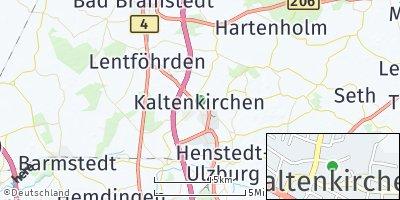 Google Map of Kaltenkirchen
