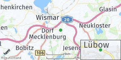 Google Map of Lübow