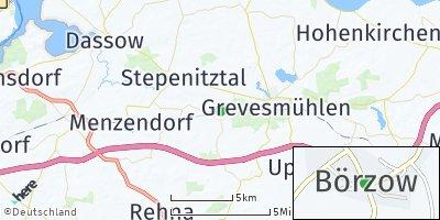 Google Map of Börzow