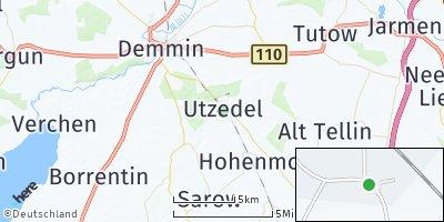 Google Map of Utzedel