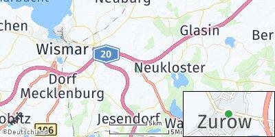 Google Map of Zurow