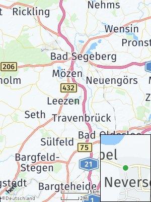 Here Map of Neversdorf