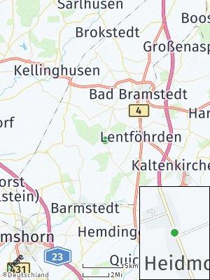 Here Map of Heidmoor