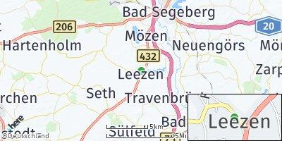 Google Map of Leezen