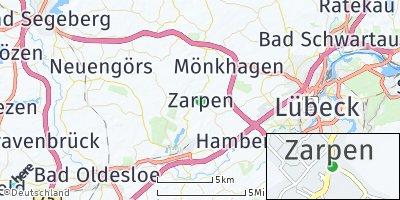 Google Map of Zarpen