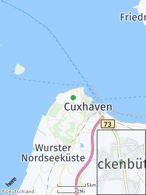 Here Map of Stickenbüttel