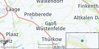 Google Map of Groß Wüstenfelde