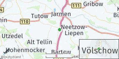 Google Map of Völschow