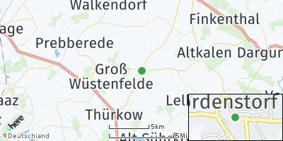 Google Map of Jördenstorf