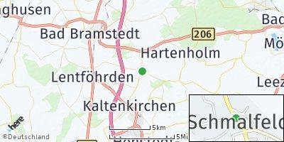 Google Map of Schmalfeld