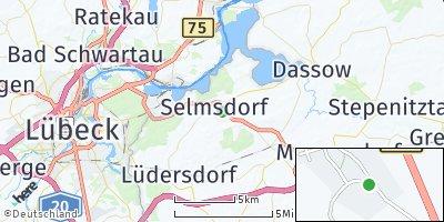 Google Map of Selmsdorf