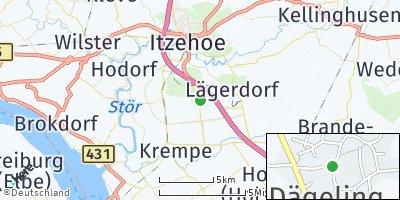 Google Map of Dägeling