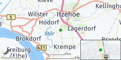 Google Map of Kremperheide