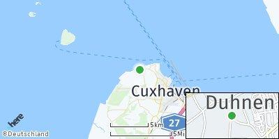 Google Map of Duhnen