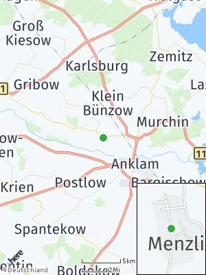 Here Map of Menzlin