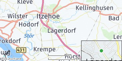 Google Map of Lägerdorf