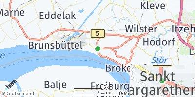 Google Map of Sankt Margarethen