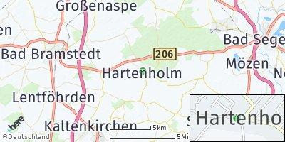 Google Map of Hartenholm