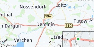 Google Map of Demmin