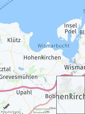 Here Map of Hohenkirchen