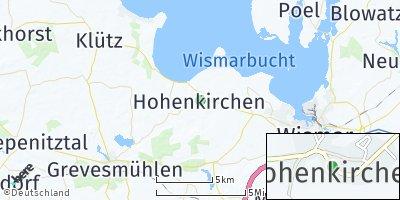 Google Map of Hohenkirchen