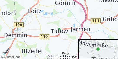 Google Map of Tutow