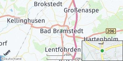 Google Map of Bad Bramstedt