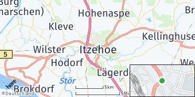 Google Map of Itzehoe