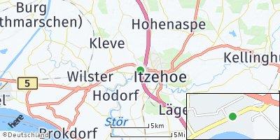 Google Map of Heiligenstedten