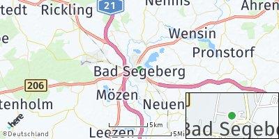 Google Map of Bad Segeberg