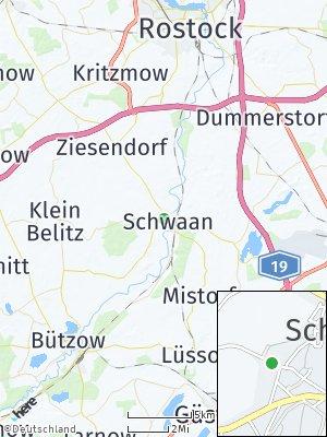 Here Map of Schwaan