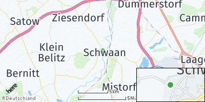 Google Map of Schwaan