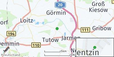 Google Map of Bentzin