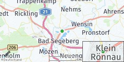 Google Map of Klein Rönnau