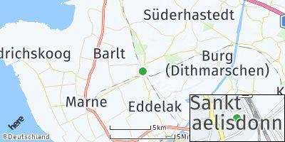 Google Map of Sankt Michaelisdonn