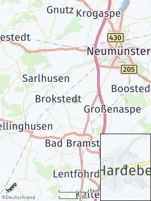 Here Map of Hardebek