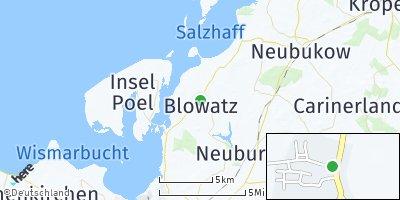 Google Map of Blowatz