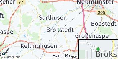 Google Map of Brokstedt
