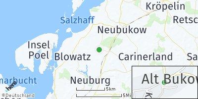 Google Map of Alt Bukow