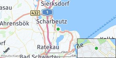 Google Map of Timmendorfer Strand