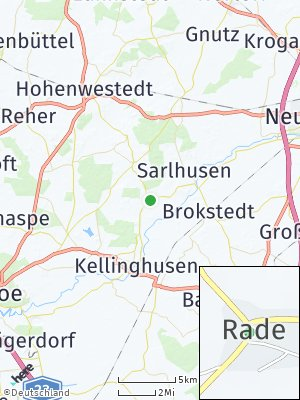 Here Map of Rade bei Fitzbek