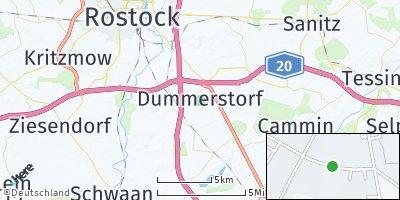 Google Map of Dummerstorf