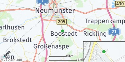 Google Map of Boostedt