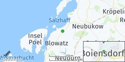 Google Map of Boiensdorf