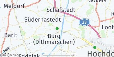 Google Map of Hochdonn