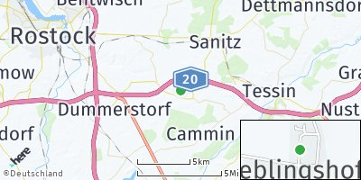 Google Map of Lieblingshof