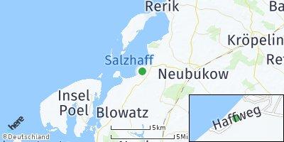 Google Map of Am Salzhaff